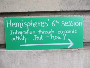Finita la Sesta Sessione di Hemispheres