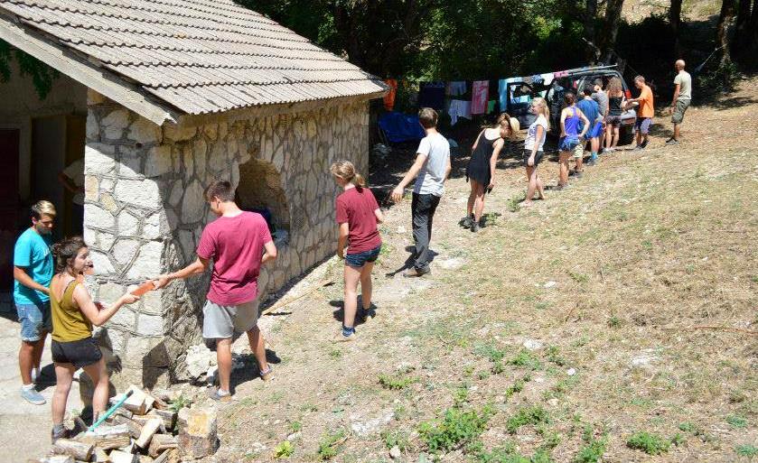 Volontariato nel rifugio