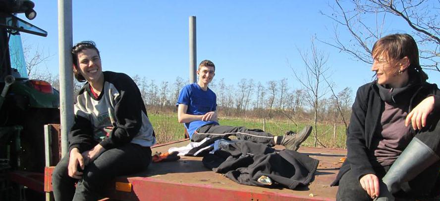 EVS volontari foto