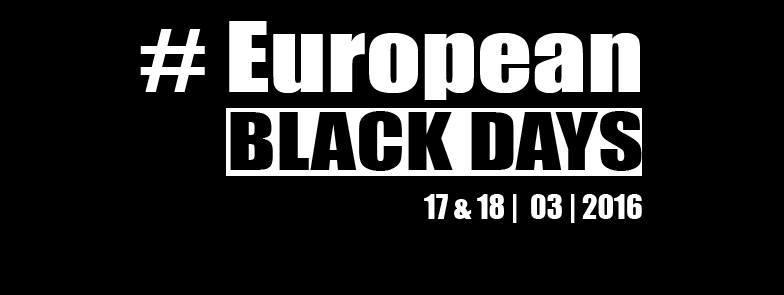 #europeanblackdays