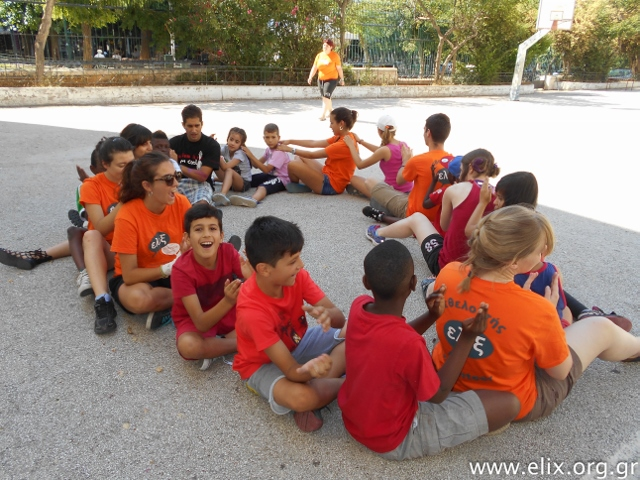 ELIX summer in the city campo volontariato