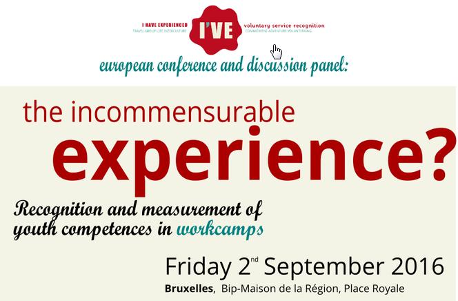 The I'VE final conference - riconoscimento delle competenze nel volontariato