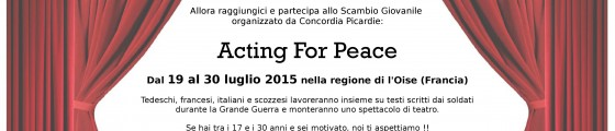 acting for peace