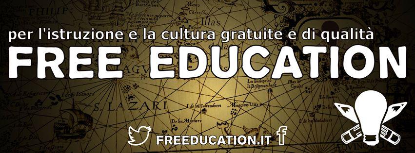 L'istruzione e la cultura inaccessibili sono un costo sociale che paghiamo ogni giorno con più disuguaglianze, l'espandersi delle mafie, un modello di sviluppo arretrato e senza innovazione. Per questo Rete della Conoscenza ha deciso di lanciare la campagna Free education, con una petizione online per fare cinque proposte concrete al Governo.