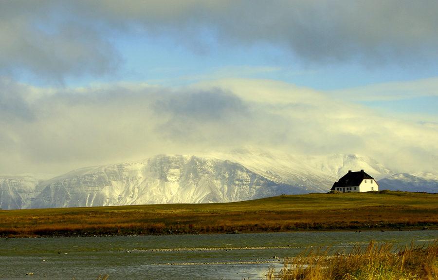 Landscape_iceland-mont ESJA