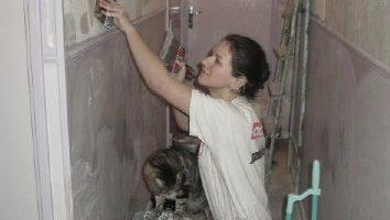 Volontaria lavorando per CBF