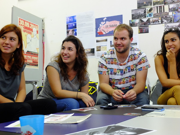 volontari post workcamp event