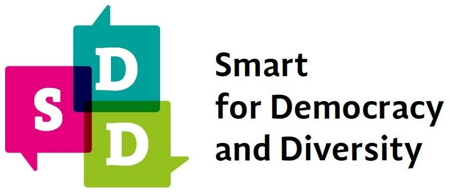 Smart for Democracy and Divesity Logo