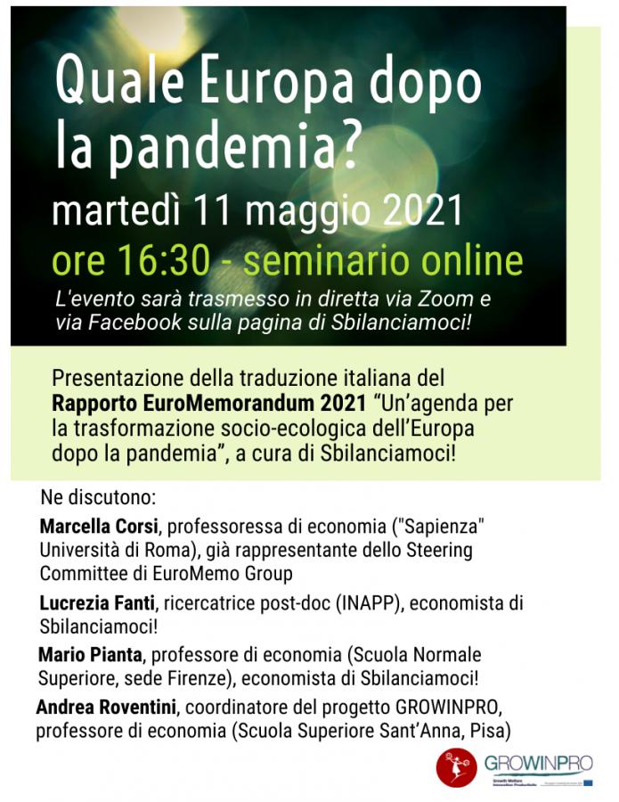 euromemorandum2021 programma