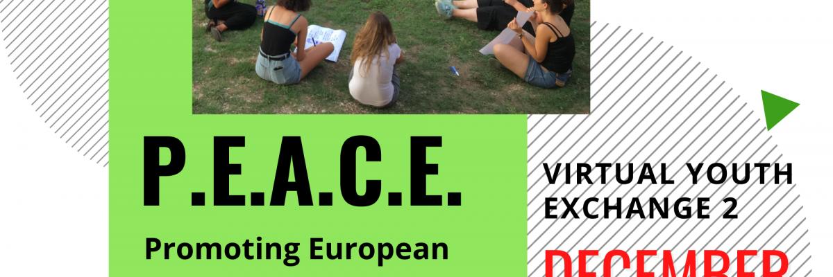 p.e.a.c.e. scambi giovanili virtuali